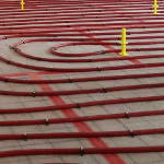 installation de plancher chauffant en rénovation
